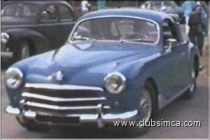 Simca 9 Sport 1952