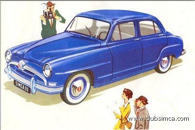 Simca Aronde 1955