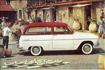 Simca Châtelaine 1961