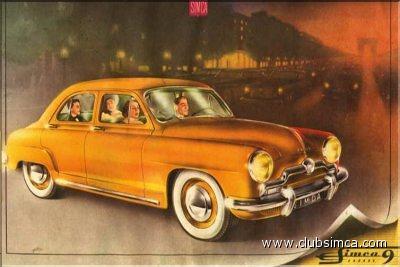 Simca 9 1951