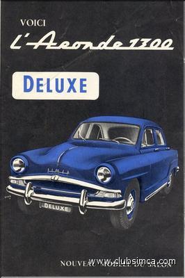 Simca Aronde 1956