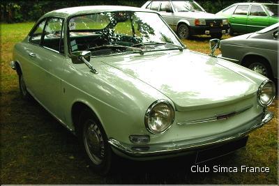 Club simca france national 2009 - Simca 1000 coupe bertone occasion ...