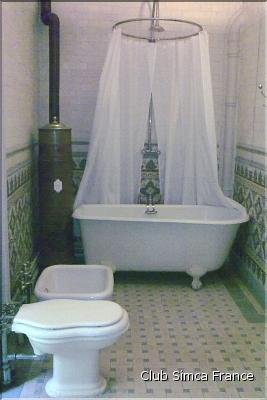 Club simca france simc 39 auvergne 2010 for Salle de bain 1900