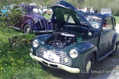 rencontre simca 2011